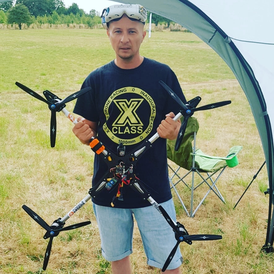 Tony marchant (thetonstar1 fpv) - Home town Crawley UKTonstar has been flying 3 years and loves racing and freestyleand now xclass! He has been a part of team Fossils stuff for 3 years Fossils stuff is a uk quad manufactuerHe ia also in Team Menace rc a uk Manufactuer of AntennasHe has flown for Propel in london with there star wars Drones healso has flown for Argos making a tv advertAnd at uk comic con tiny whoops with Jessie perkinsand Channel 4 uk tv tooHe also hosts a podcast every Thursday called lets drone outRacing achievements.......2nd at Suffolk fpv races2nd at EMHC3rd at EMHC2nd at fpv league.co.uk6th at 1st ever uk NationalsHere are some videos from his u tubehttps://www.youtube.com/watch?v=_LXyqVSnR7M&t=79s Tv adverthttps://www.youtube.com/watch?v=ZoQ-ljJaVro Racinghttps://www.youtube.com/watch?v=223101rMBpk xclass demohttps://www.youtube.com/watch?v=1MisJEqcvWA freestylehttps://www.youtube.com/channel/UCE9ewFPnDkObIon8fY3NgkA Lets drone out