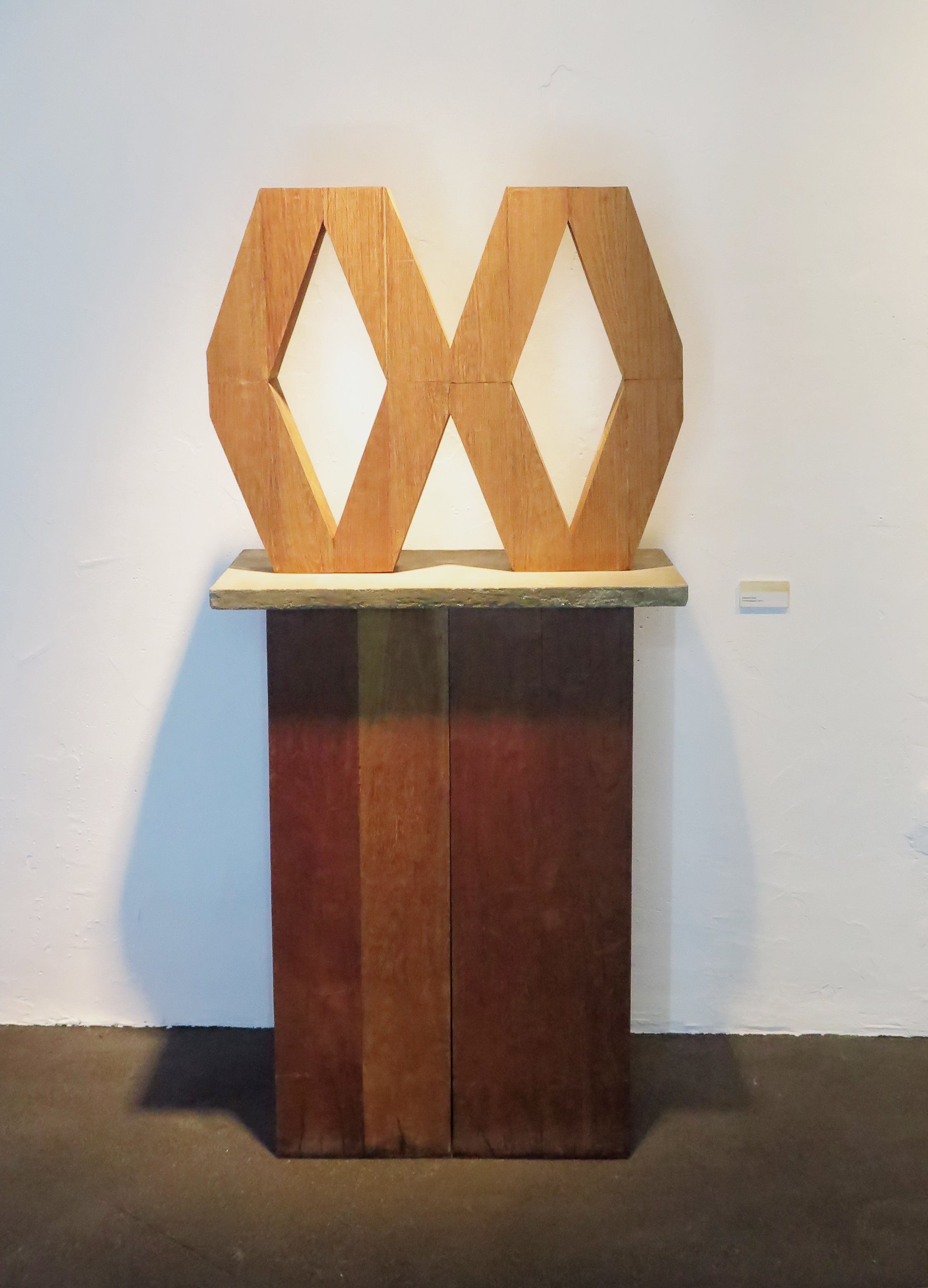 "Raphael Zarka, ""Prismatique"" 2013"