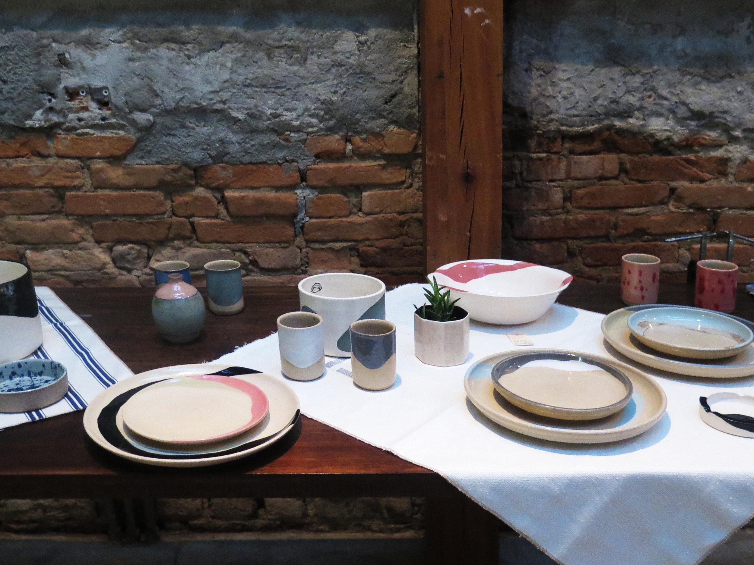 Cerâmicas de Daniele Yukari