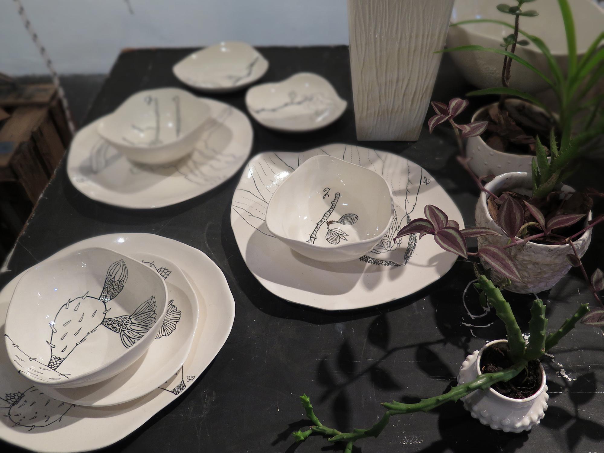 Porcelanas de Nicole Toldi