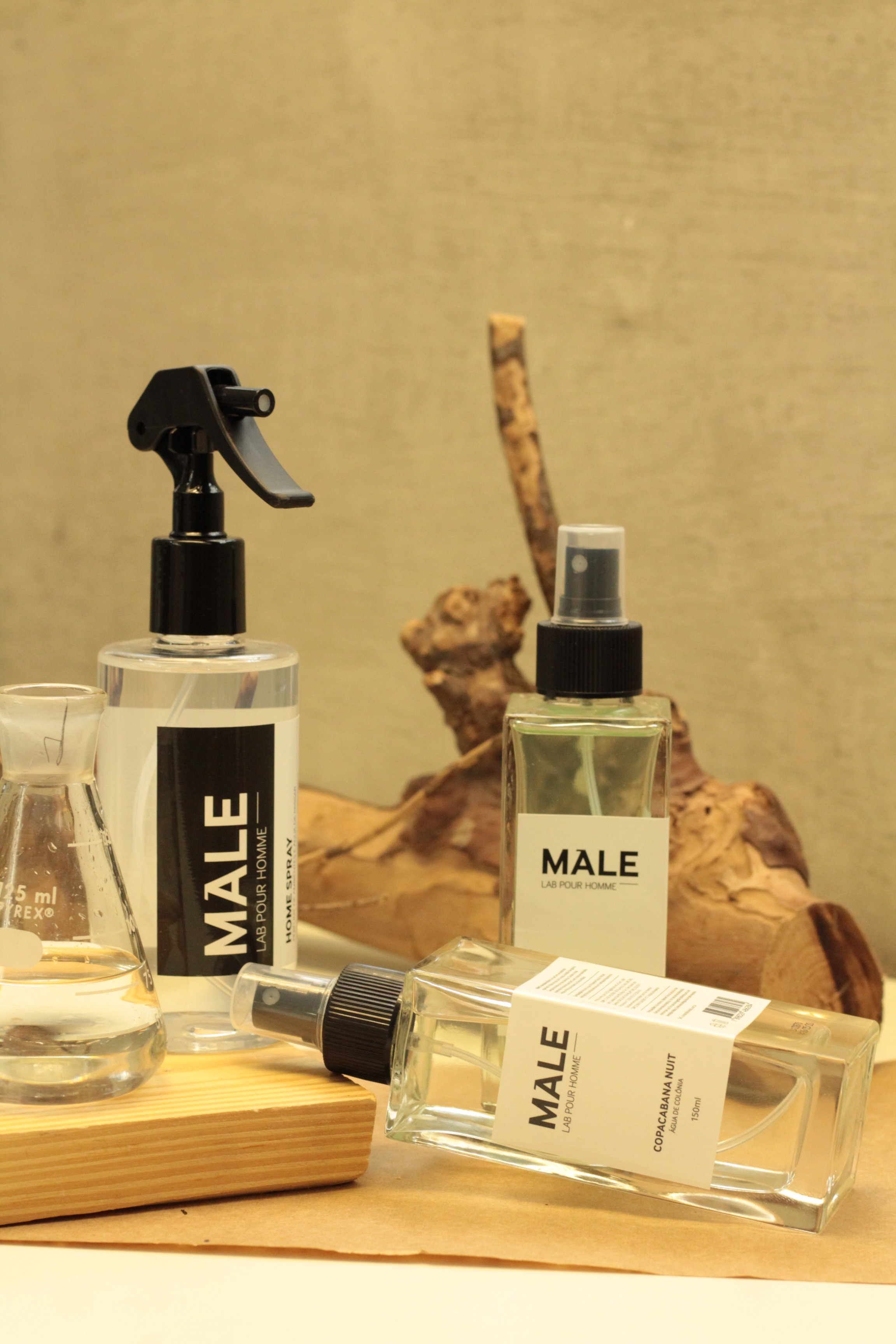 Colônias e Home Spray | Male Lab Pour Homme