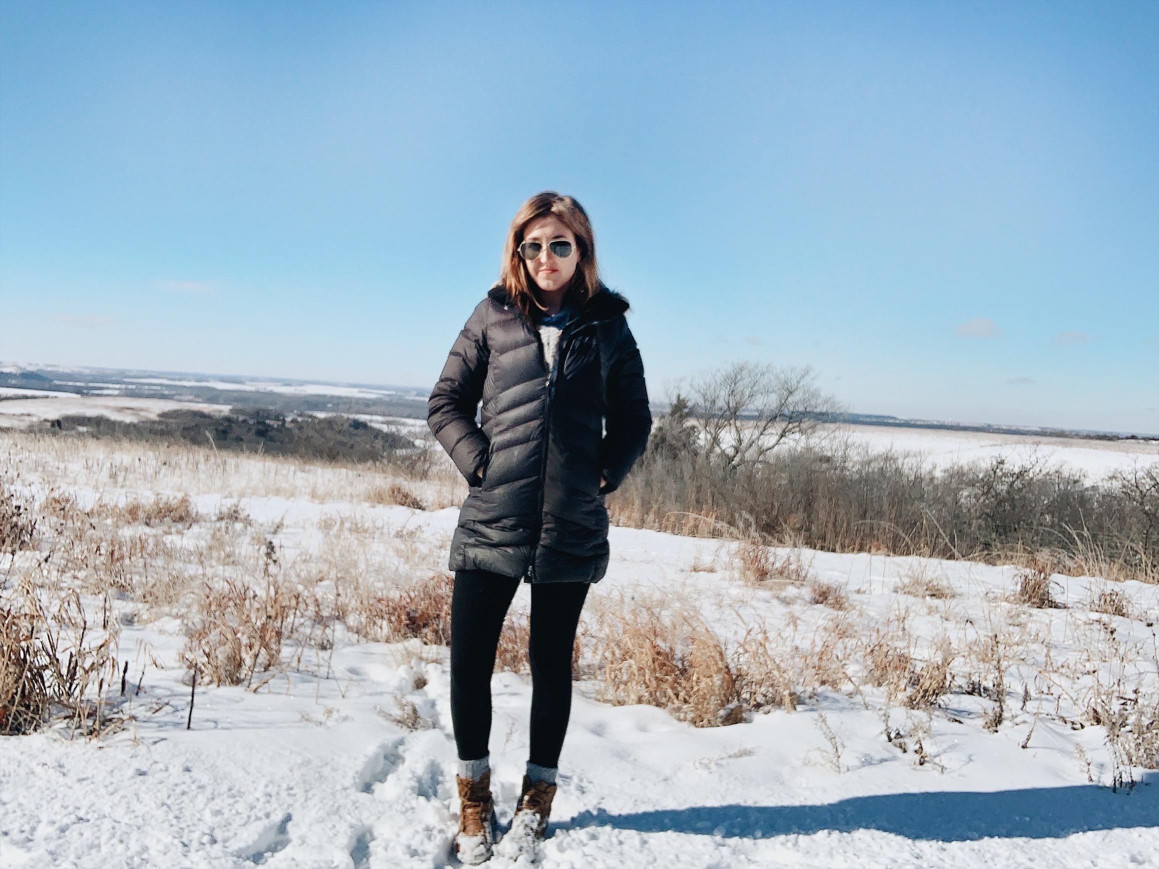 Konza Prairie in 2019 Winter