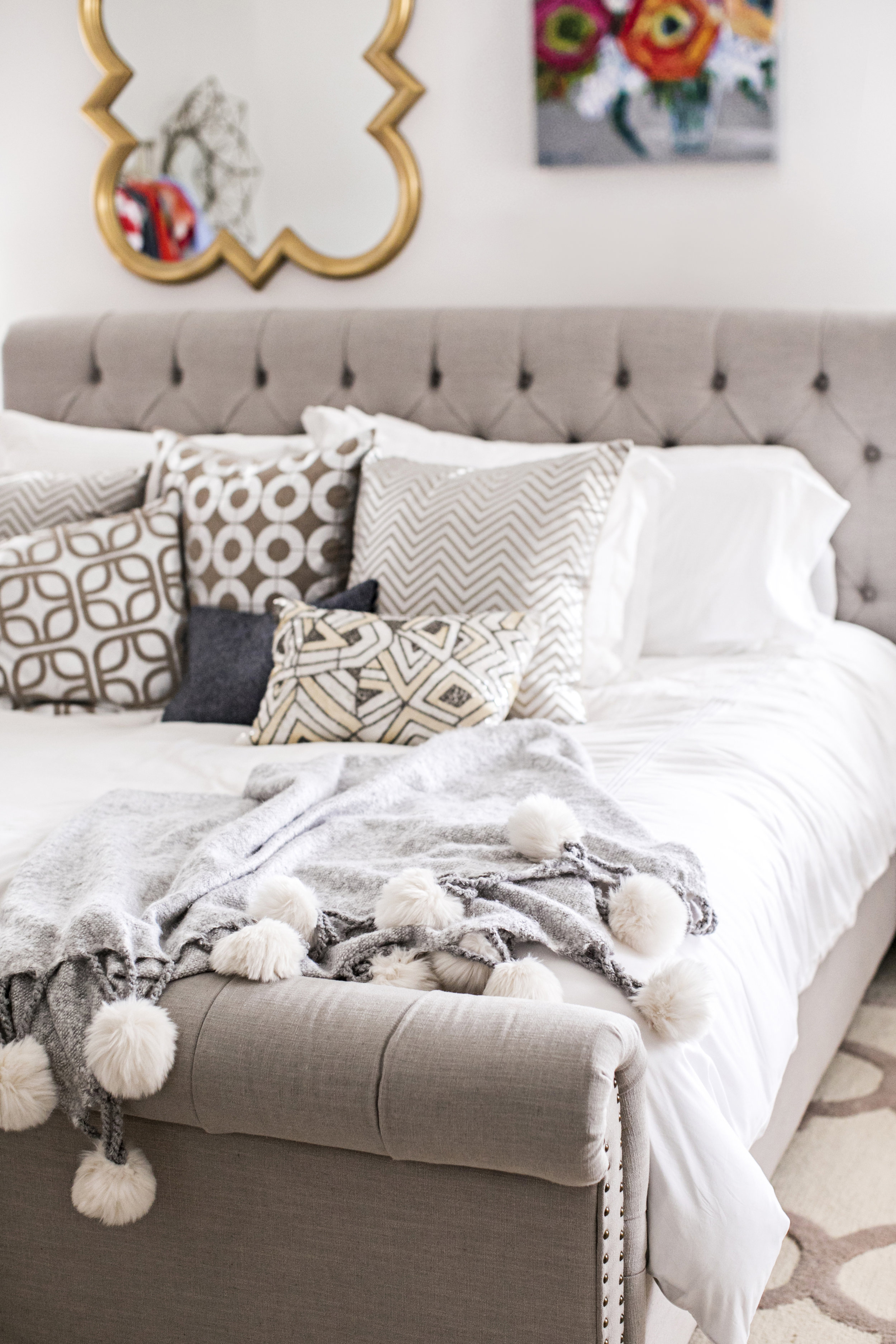 Style your Bed like a Pro || Edit by Lauren