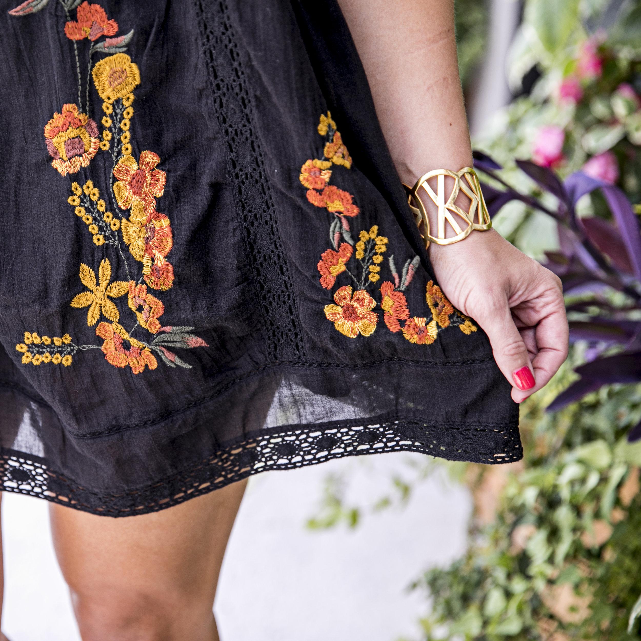 Summer to Fall Boho Dress | Edit by Lauren