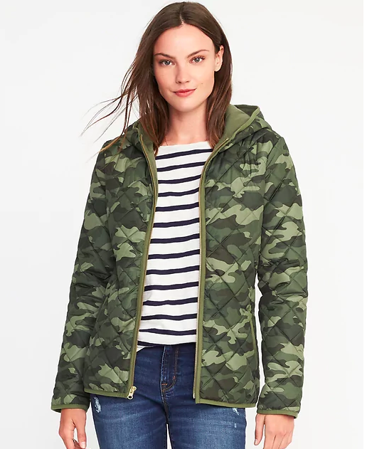 I snagged  this Old Navy camo jacket  for just $27 over the weekend! How cute is it?!