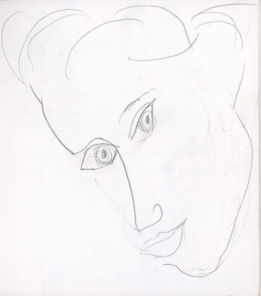 Apr è s Matisse, 1972