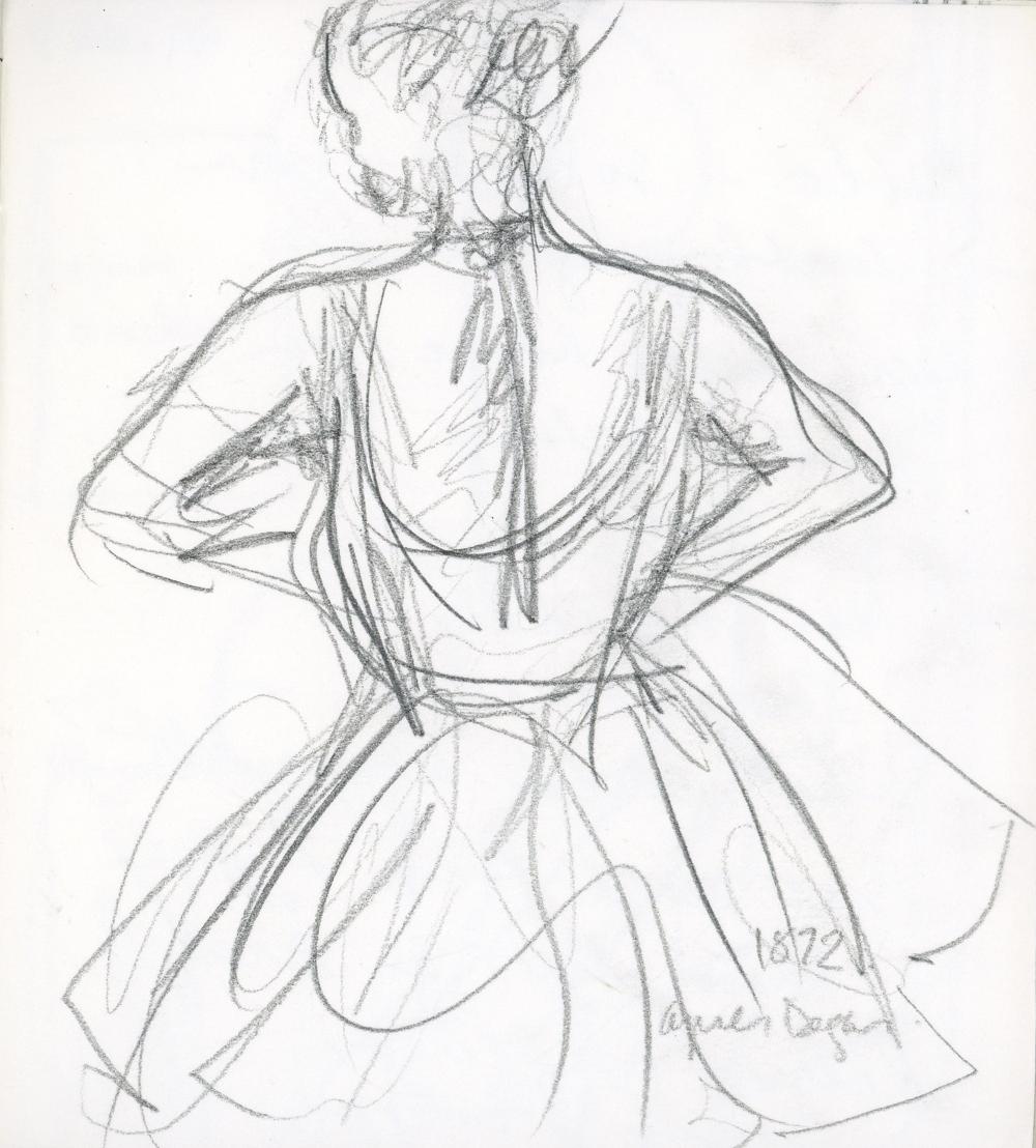 Apr è s Degas, 1972