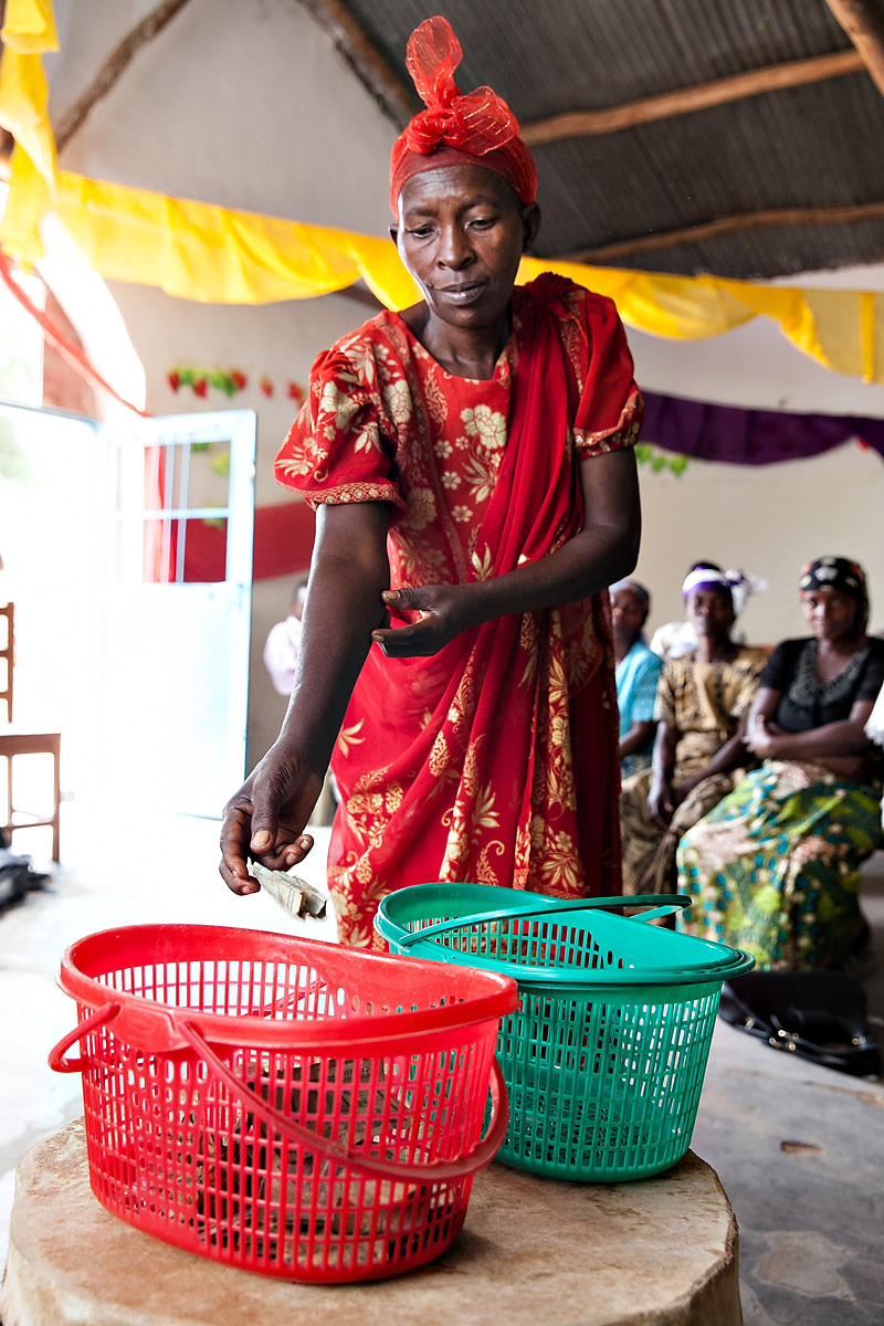 The image above is taken from Five Talents' recent  photo essay  on savings groups in Burundi.  Photo credit: Ross Oscar Knight for Five Talents