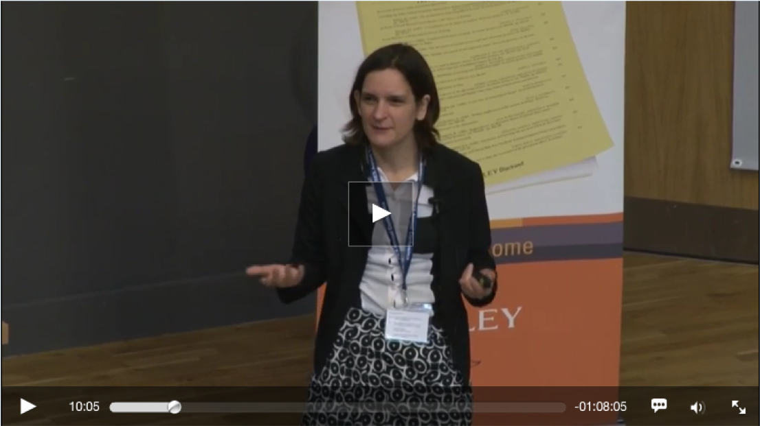 A bonus video, better filmed, of Esther Duflo  speaking at the RES Conference