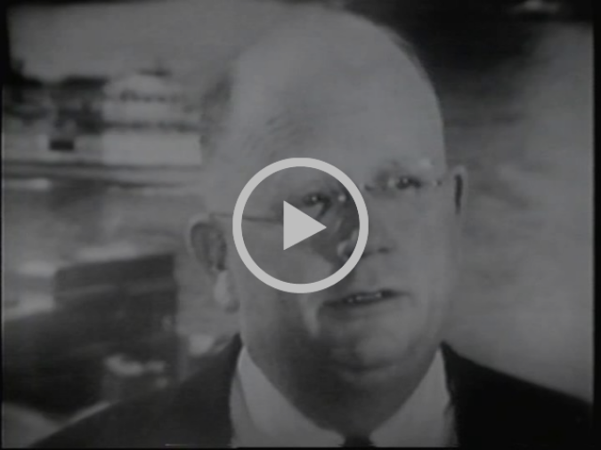 "An amazing 1953 ""explainer"" about stock market investing narrated by Edward R. Murrow. The link is to a segment that talks about whether broad ownership of stock is a good or bad thing (see Item 4 above). Hattip to  Morgan Housel."