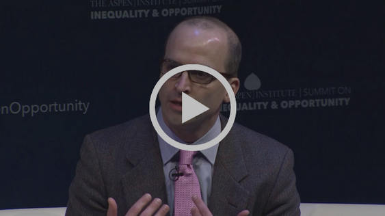 Here's  video  of Jonathan Morduch and Rachel Schneider discussing their recently released book,  The Financial Diaries  and the research with David Leonhardt of the New York Times at the Aspen Institute's recent Summit on Opportunity and Inequality.