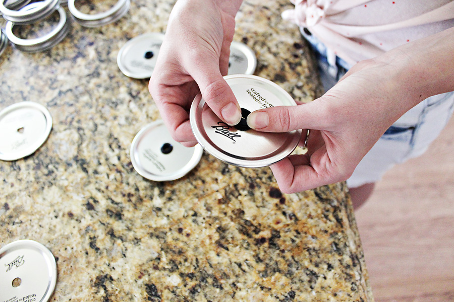Darling Be Brave - DIY Mason Jar Tumbler Lids