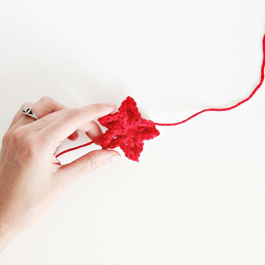 darling be brave >> crochet star tutorial & patter