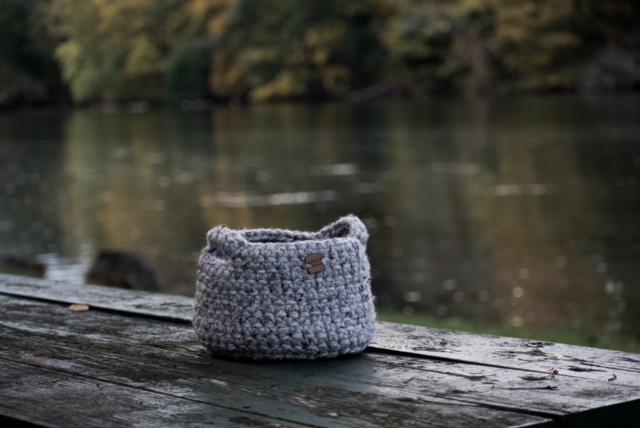 Darling Be Brave Mini Basket Crochet Pattern