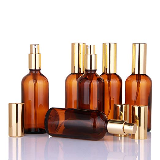 DBBE Amber Glass Spray Bottles with Gold Top.jpg