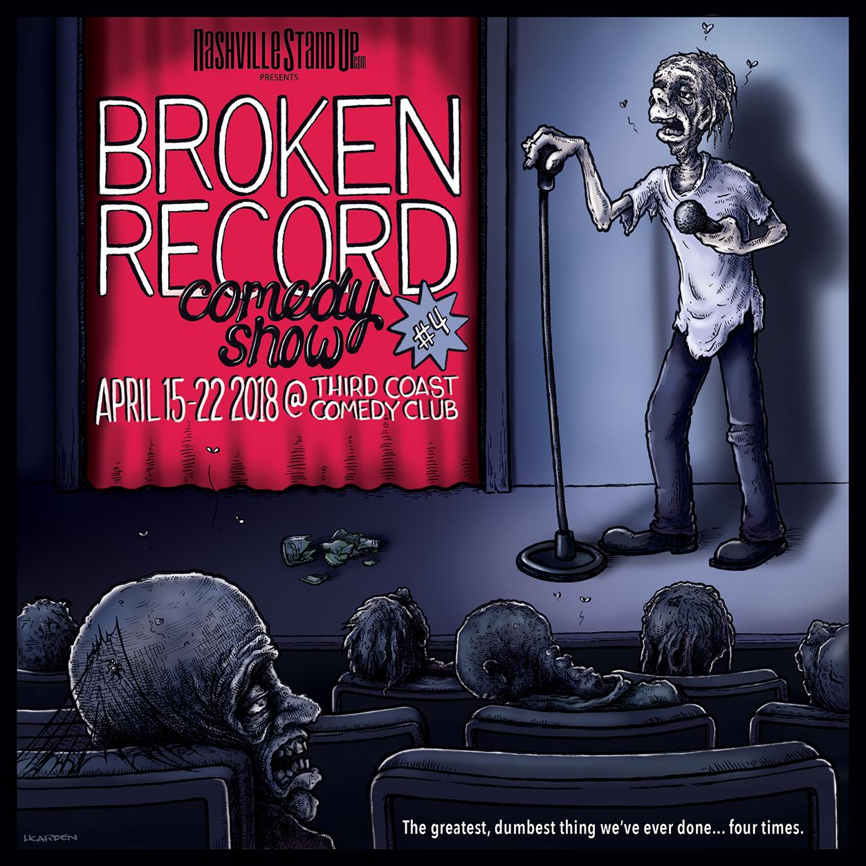 Broken Record Comedy Show poster