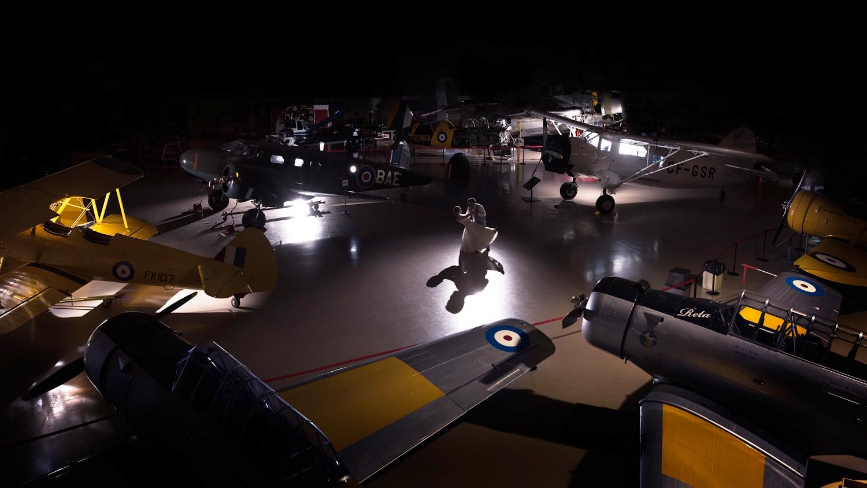 Warplane Wedding