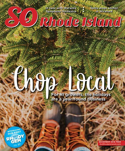 cover photo + a full spread in SO Rhode Island Magazine
