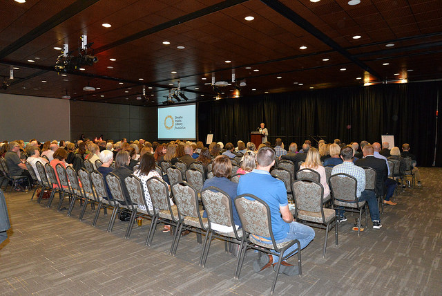 The annual fundraiser for Omaha Public Library welcomed more than 200 attendees.