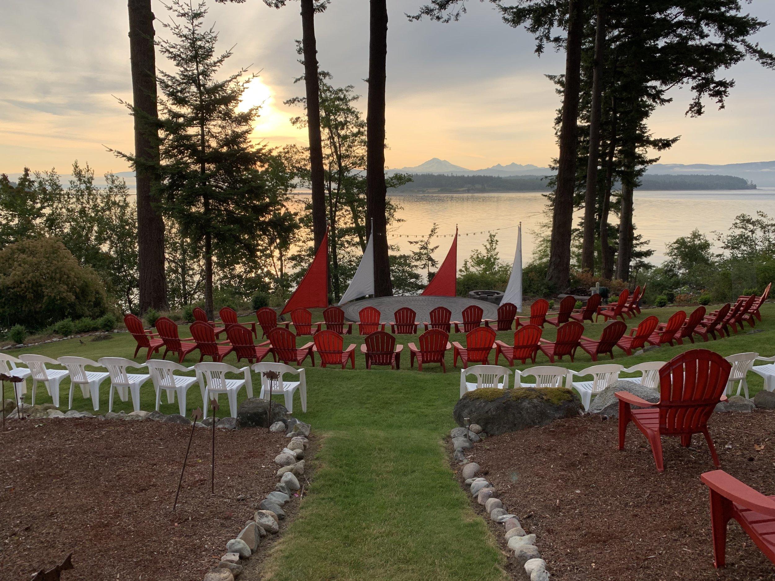 The Rock Garden Amphitheater, Lummi Island 2019