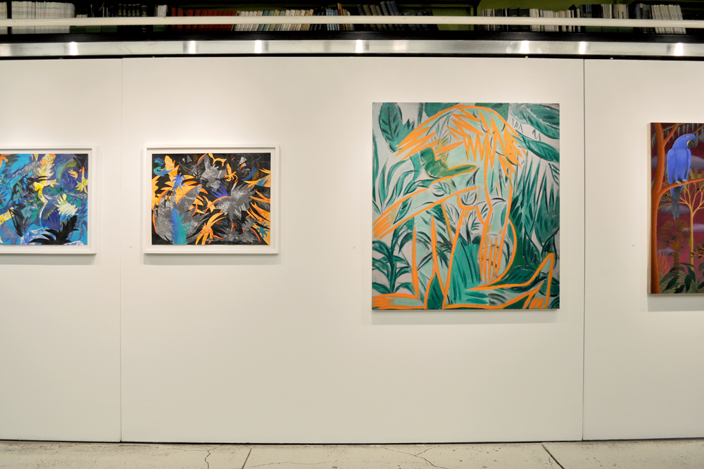Installation view,  The Delightful Land , The Horticultural Society of New York, August 7 – September 13, 2013.