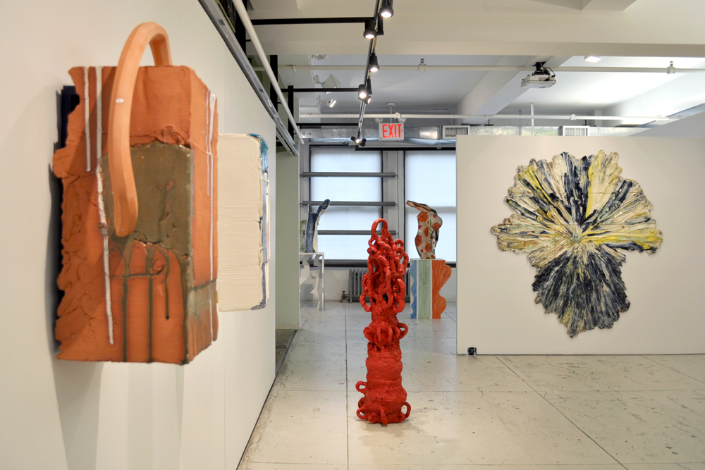 Installation view:  Vessels , The Horticultural Society of New York, May 7 – July 3, 2013.