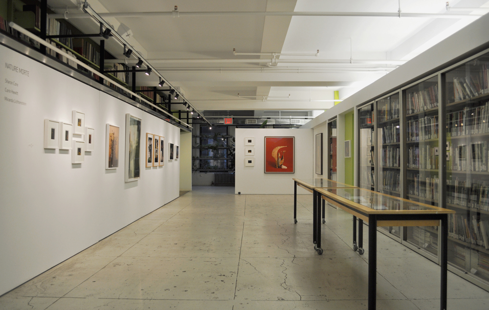 Installation view:  Nature Morte , The Horticultural Society of New York, December 7, 2011 – February 10, 2012.