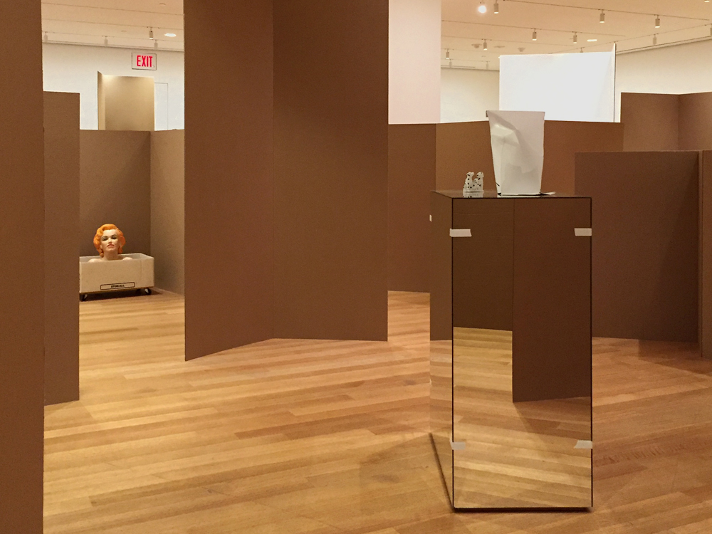 Installation view,  Rachel Harrison: Perth Amboy , The Museum of Modern Art, March 19 – September 5, 2016. (All photos: Chris Murtha)