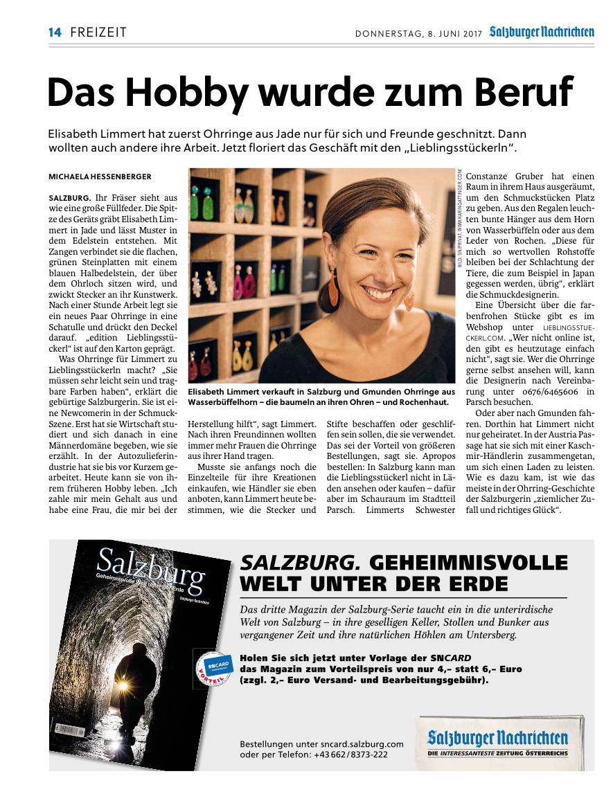 edition Lieblingsstückerl Elisabeth Limmert
