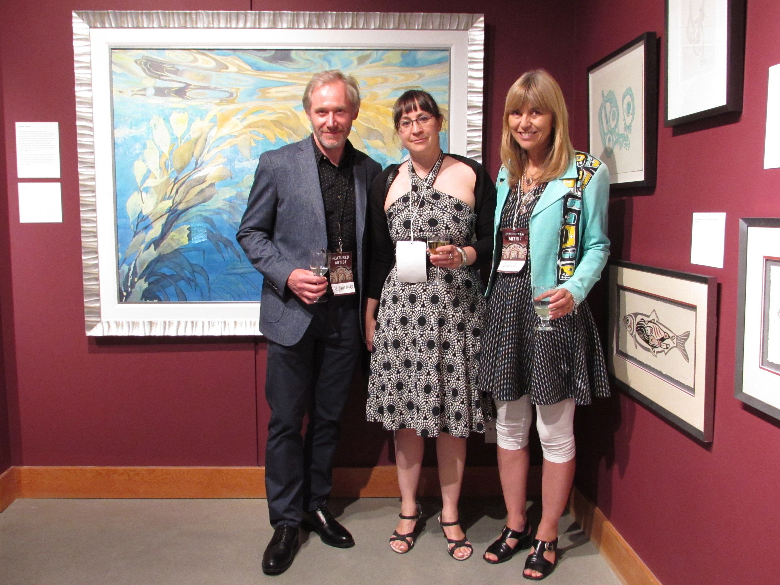 W. David Ward, Sophie Lavoie, and April SGaana Jaad White