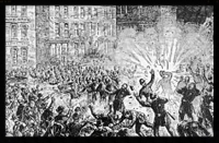 Haymarket Riot: From Schaak; Anarchy and Anarchists, 1889