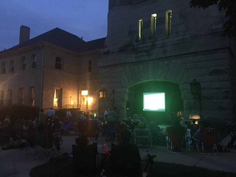 Movie Night under the Tower
