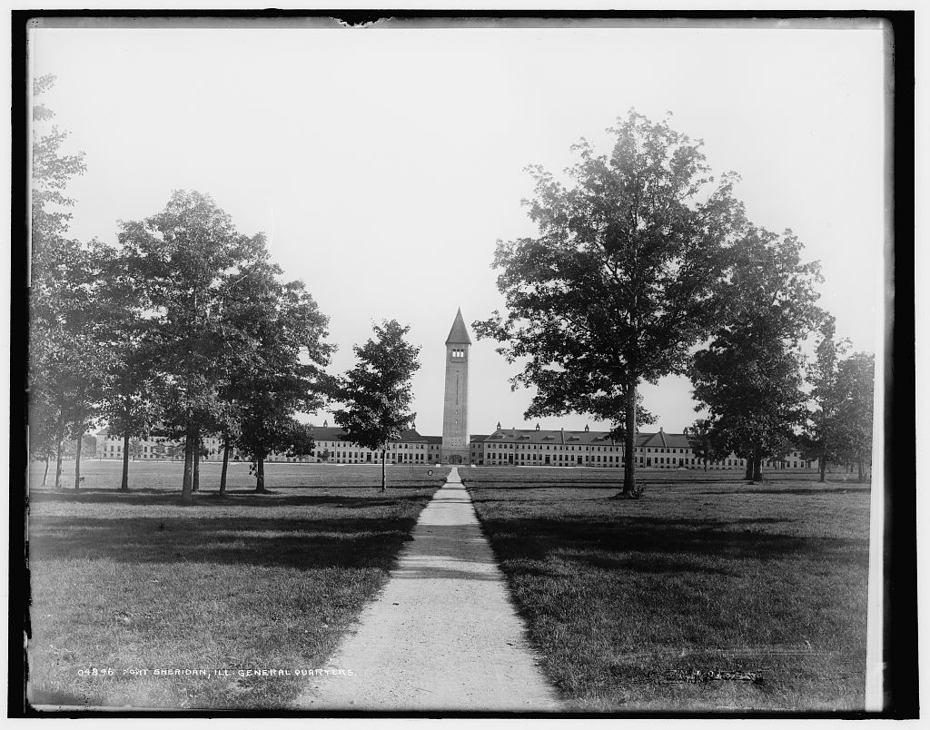 General quarters, Fort Sheridan, IL (est 1898)