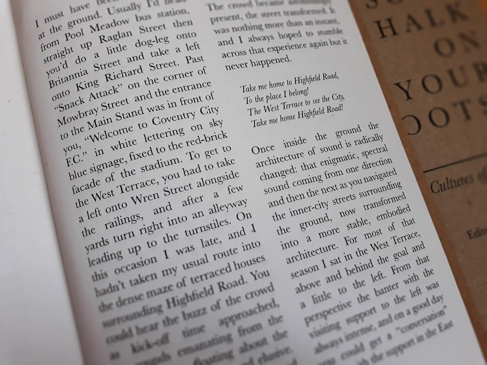 Catalogue essay  From Highfield Road to Parada de Ester