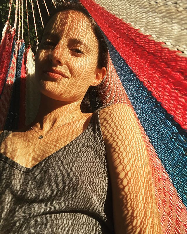 Hammock life. 💆‍♀️ My dad bought this hammock in Honduras over 30 years ago. Pretty crazy right. #madetolast