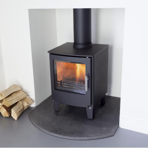 Westfire Series 1 sitting on a black resin floorplate