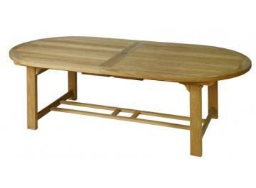 Chunky Oval Extending Table (1.8m to 2.4m)  Normal price £999.00