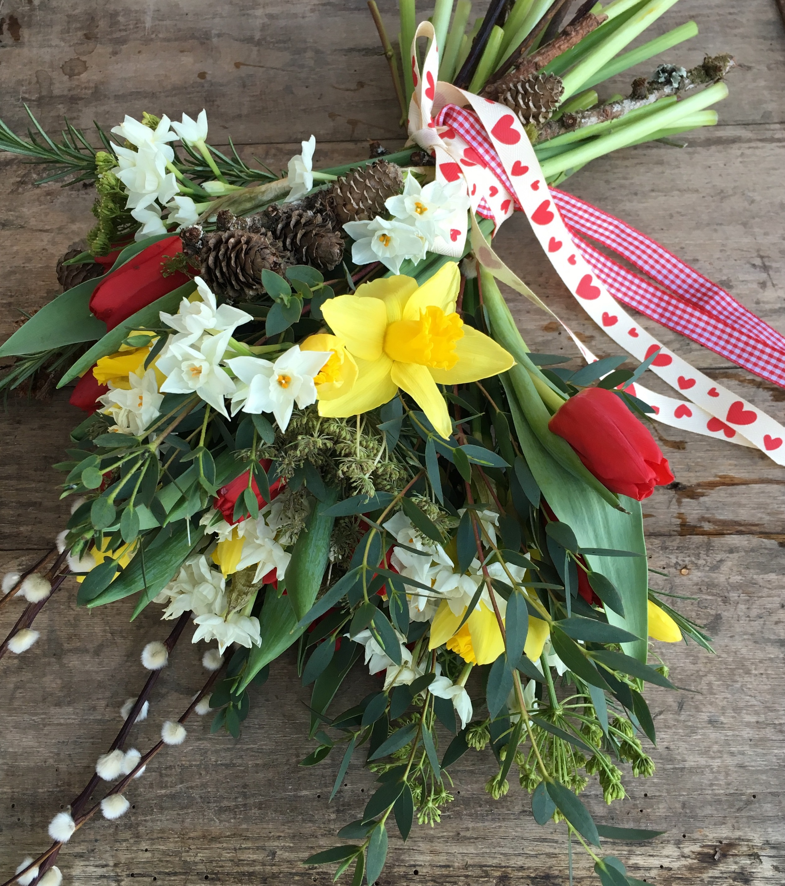 british grown valentine bouquet