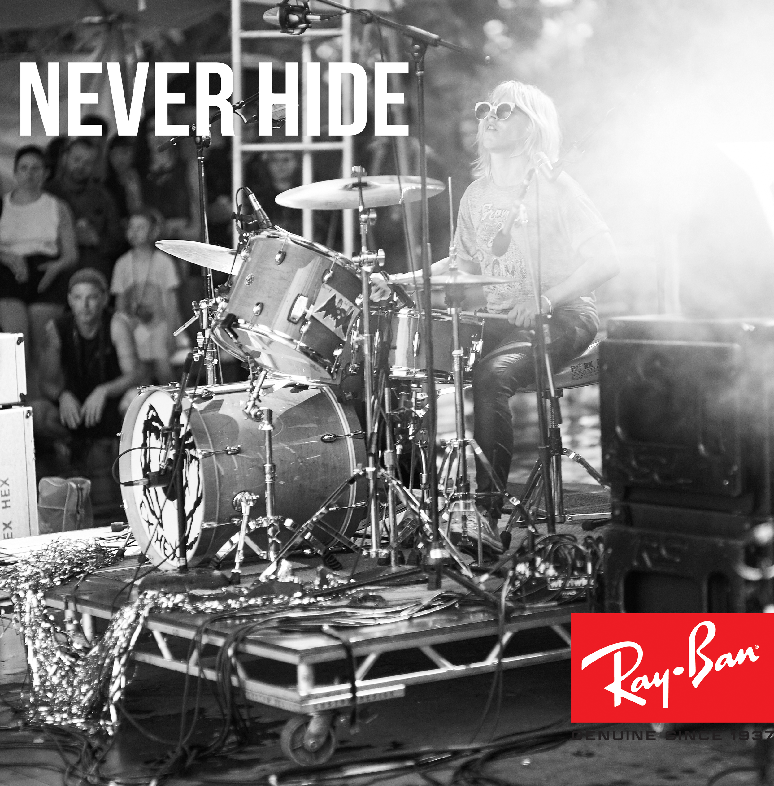 Ex Hex for Ray Ban