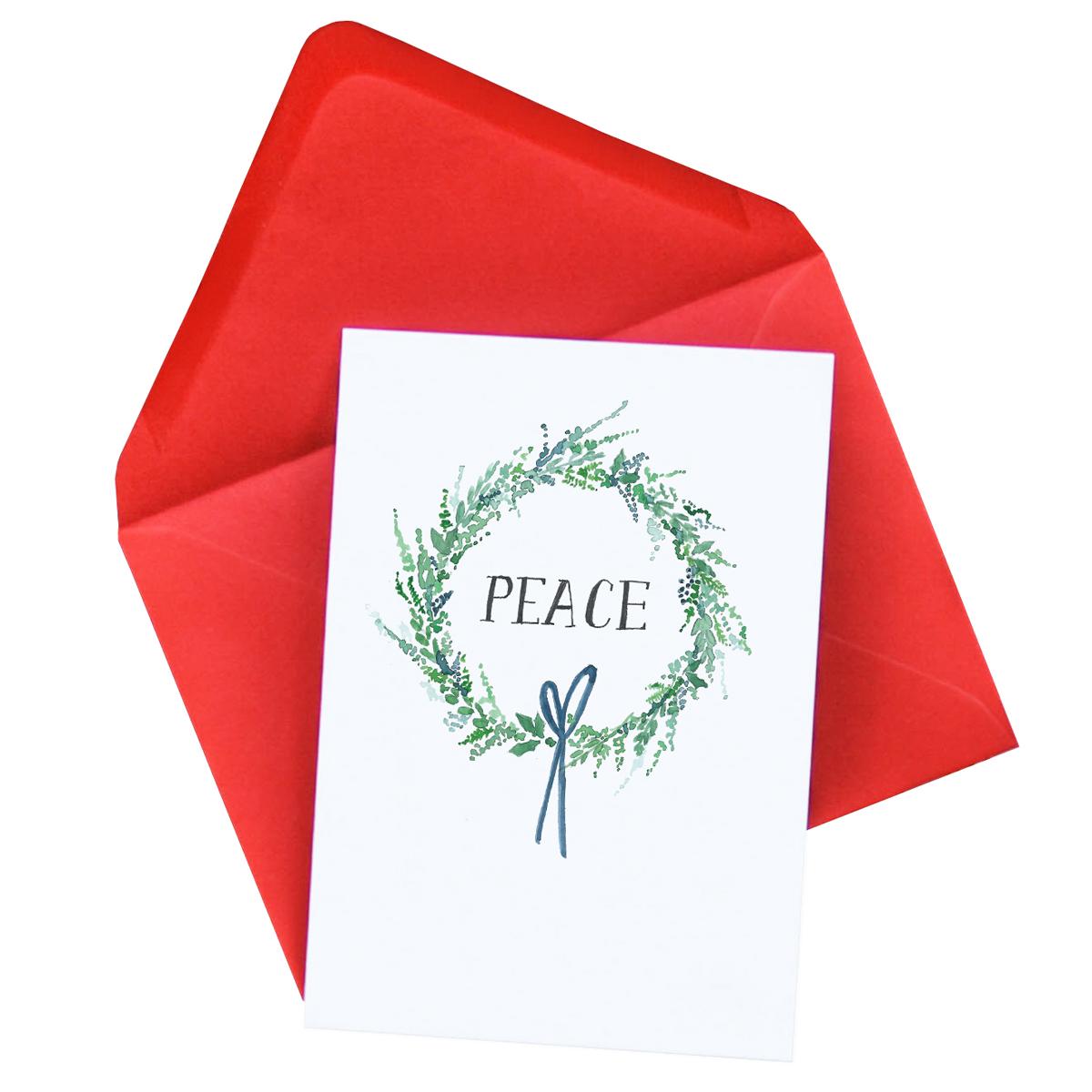 Peace Christmas Card  £2.50