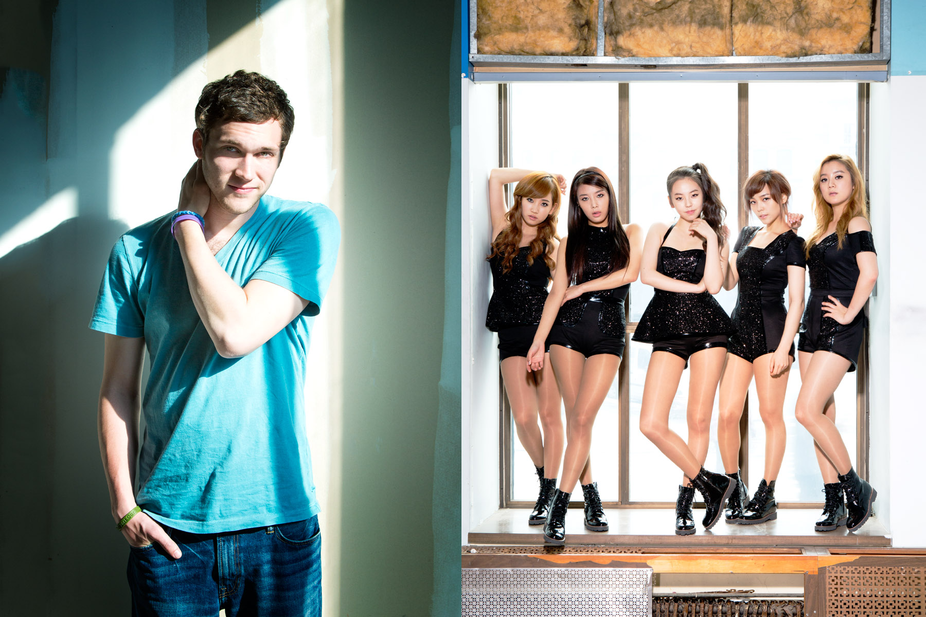 Phillip Phillips/Wonder Girls