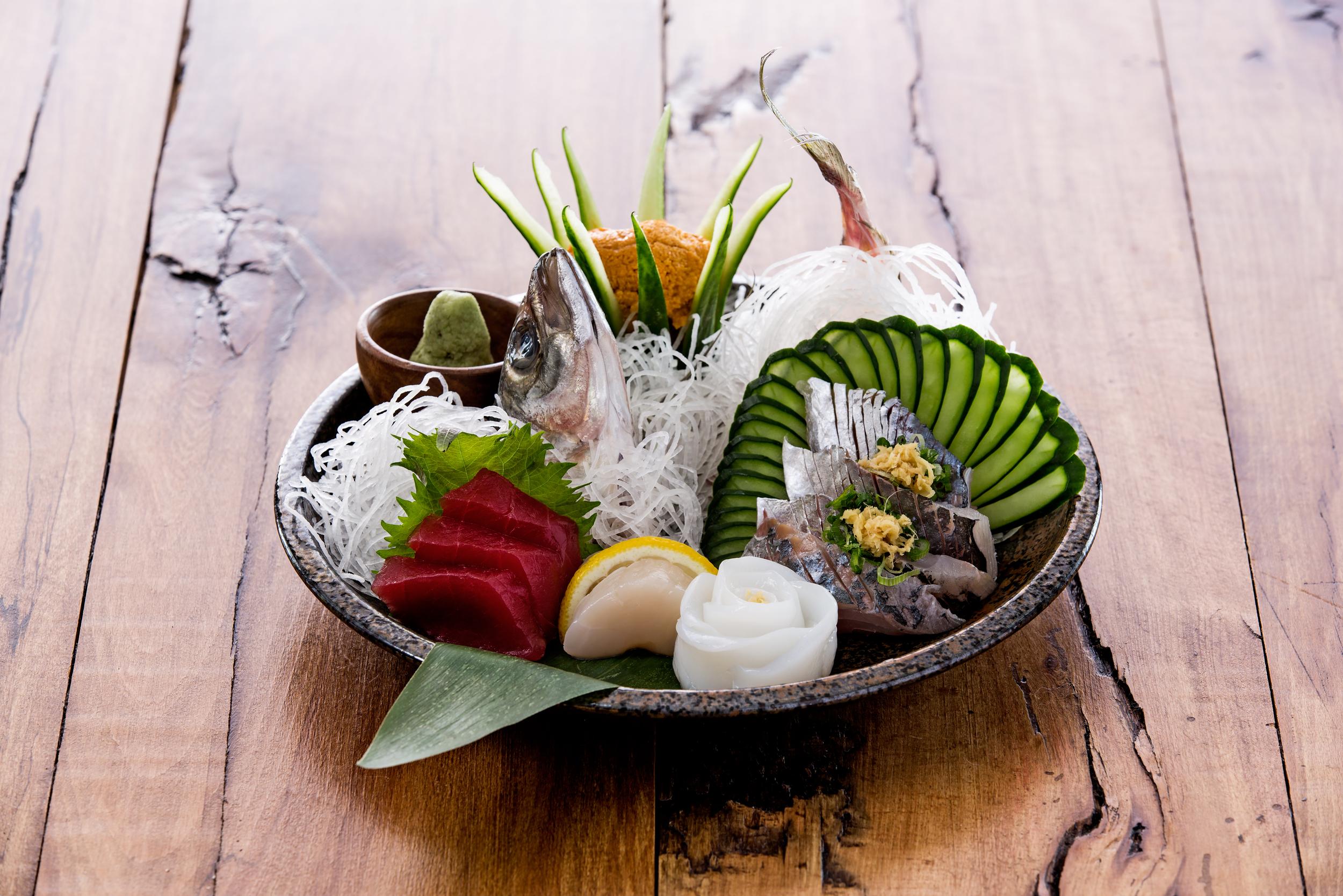 Shinsei Restaurant Dallas   Chef's Selection Sashimi
