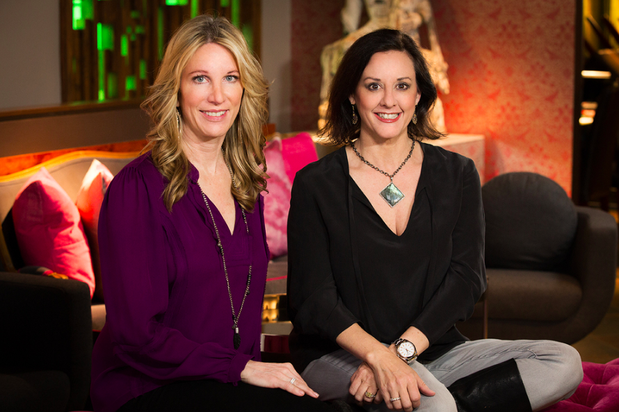 Pictured (l to r) - owners Lynae Fearing and Tracy Rathbun