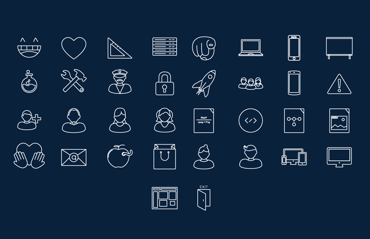 Facebook f8 Icons (2014)