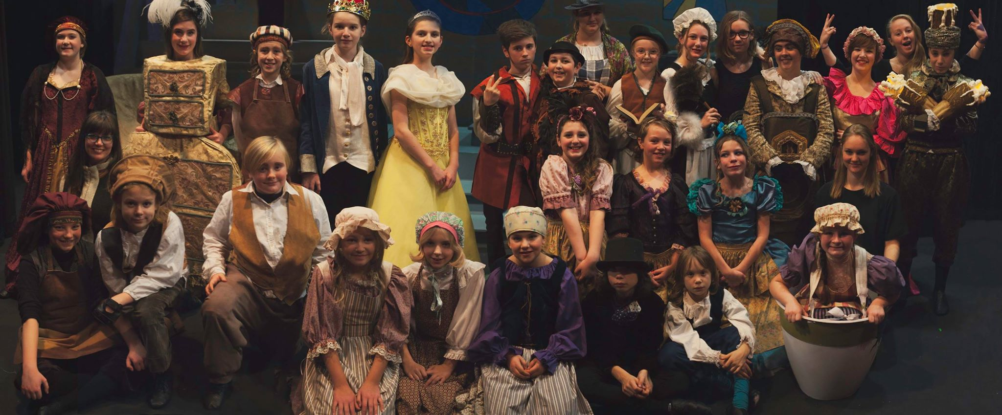 Beauty and the Beast Cast, November 2015,Photo by Lucy B Photography