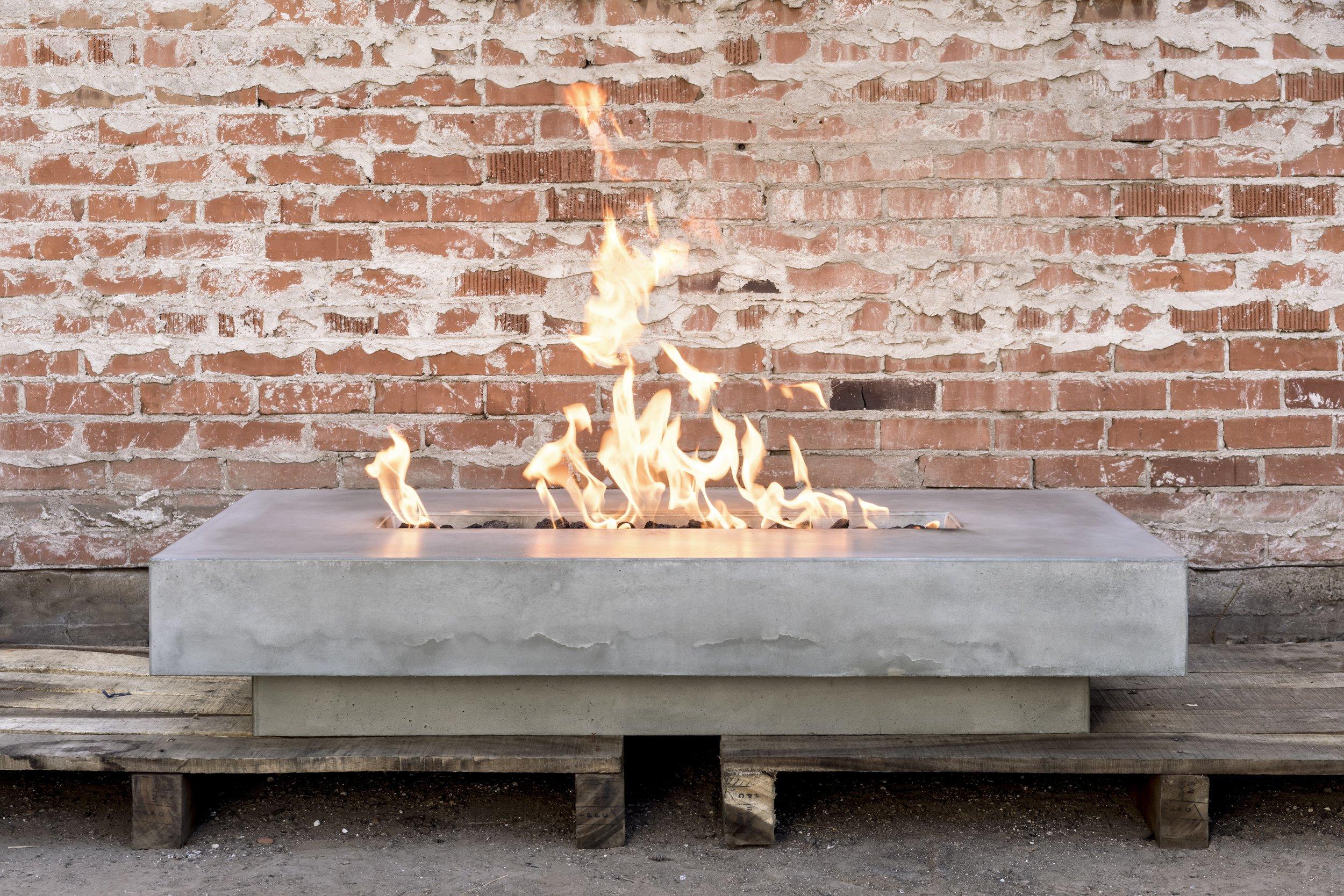 CONCRETE FIRE FEATURE -