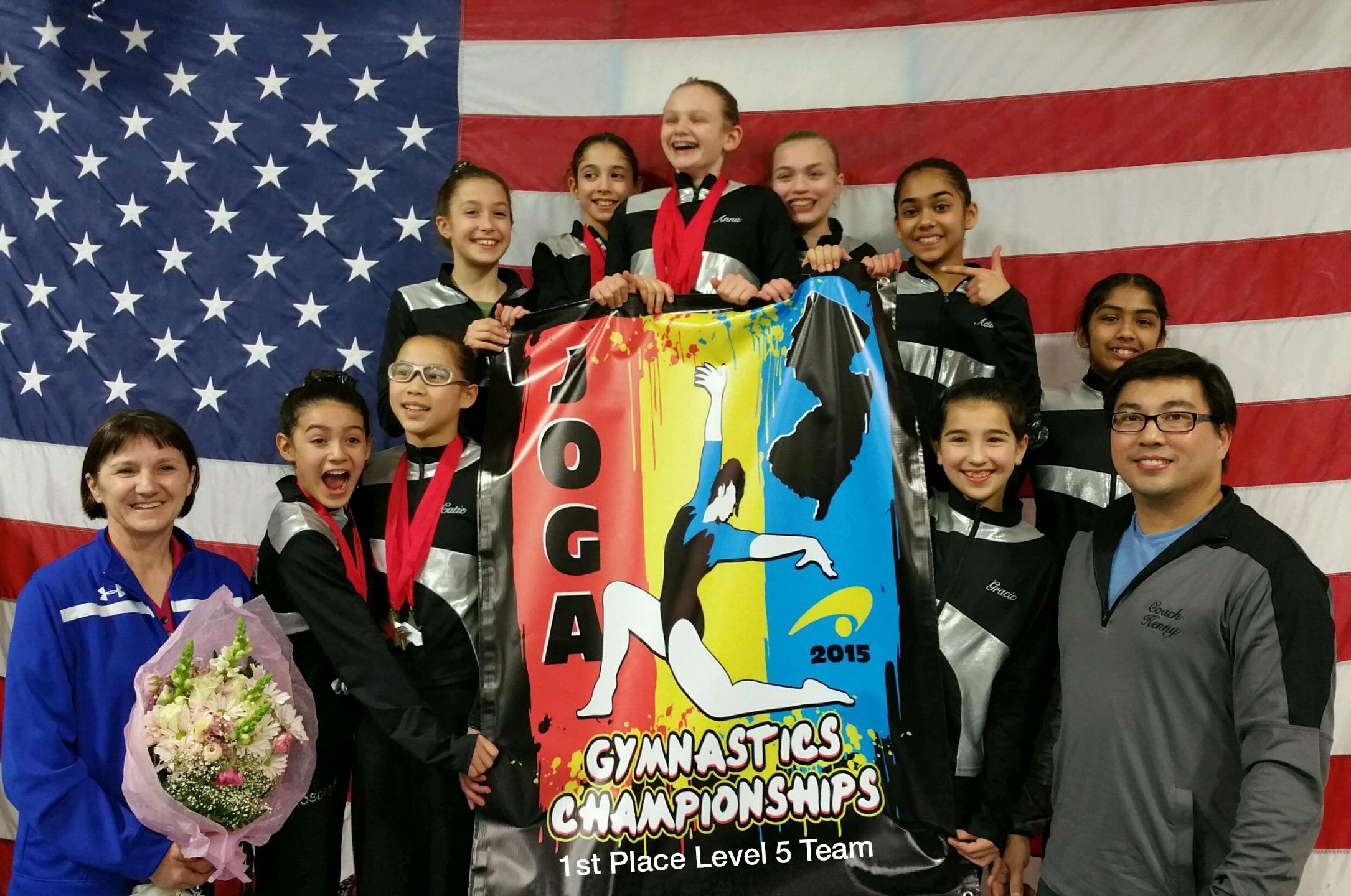 JOGA Level 5 State Champion 2015