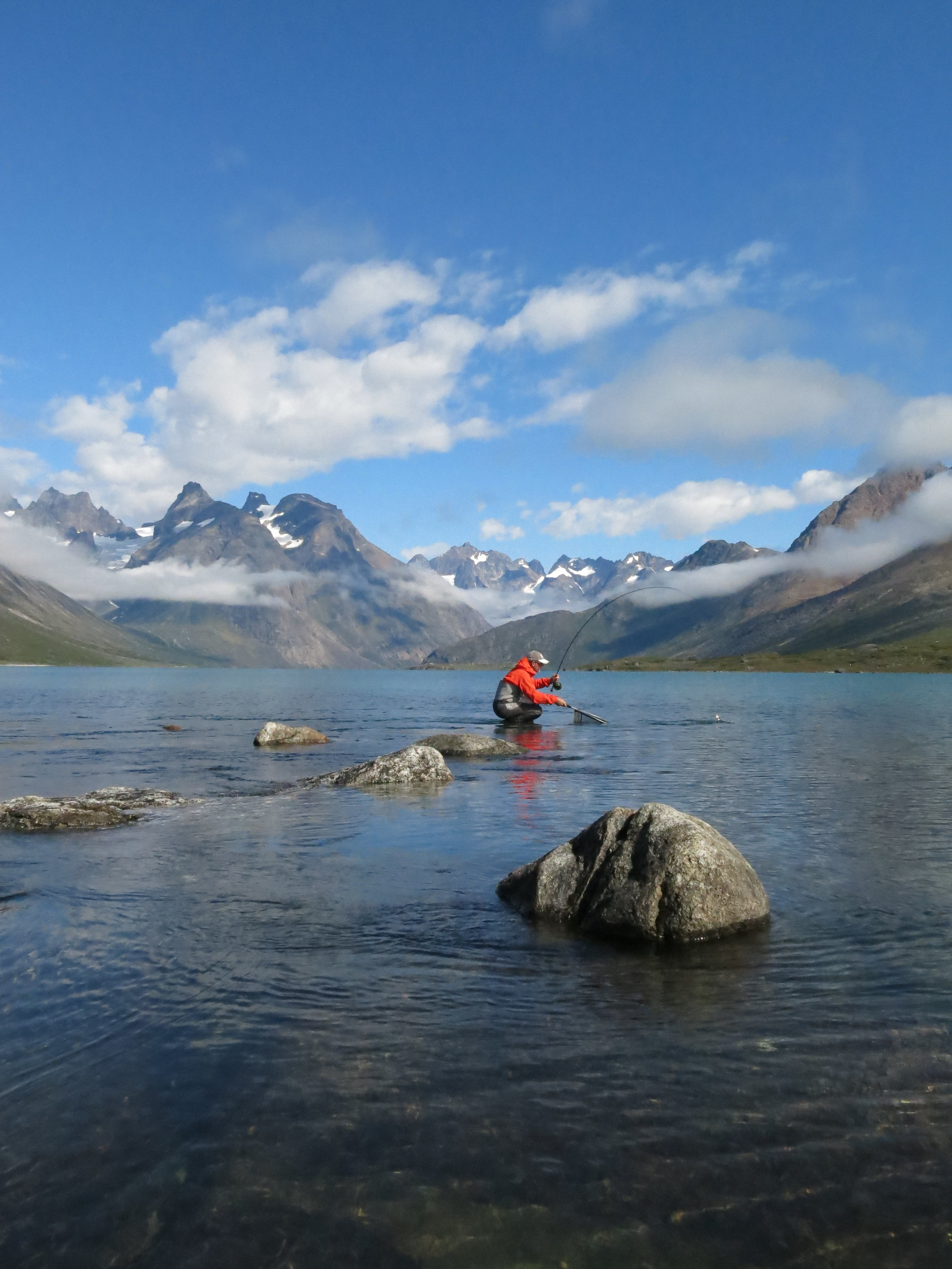 greenland fishing trip