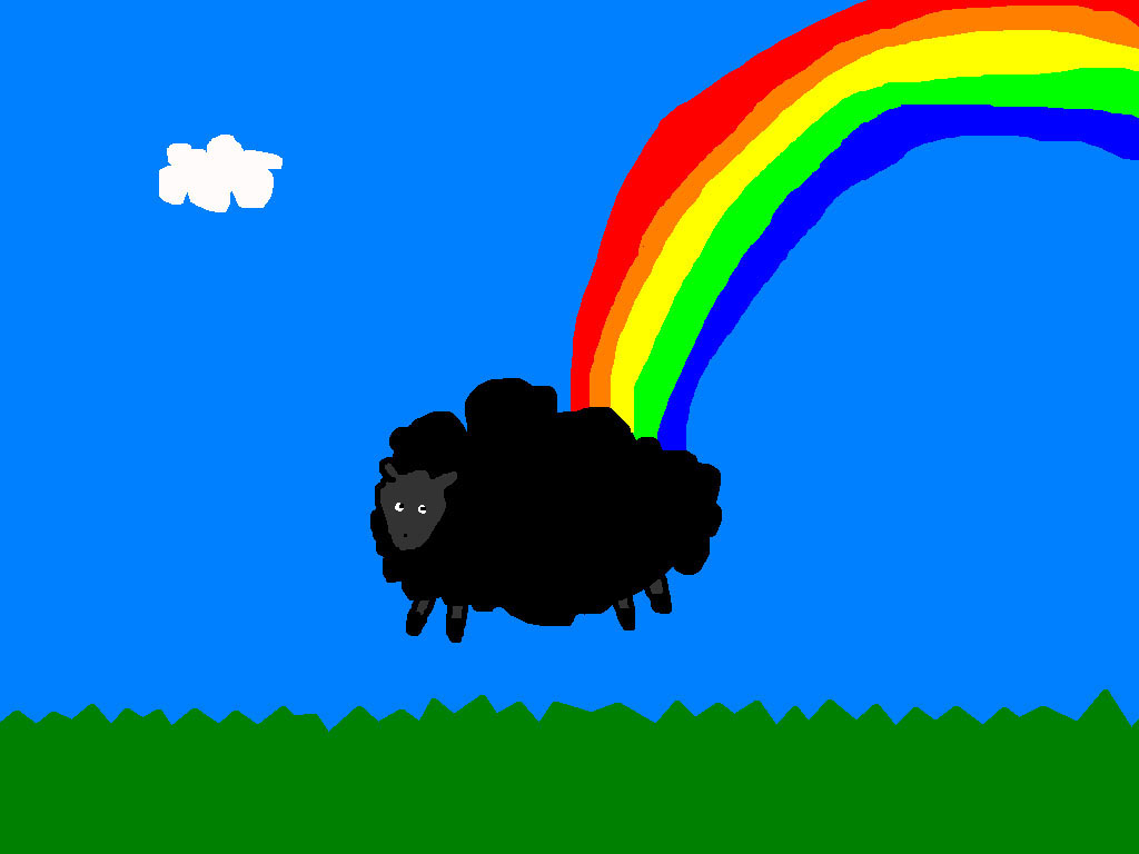 Black sheep at the end of a rainbow-1.jpg