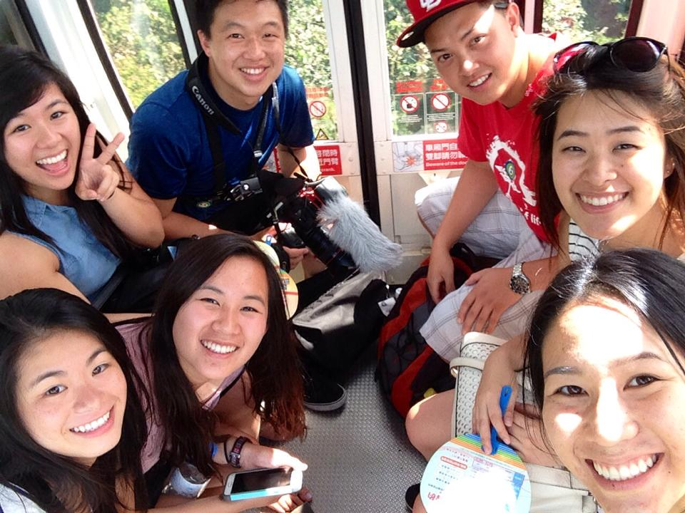 PC: Anna Ger. This is our Gondola group!